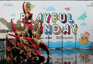 Gandes Pamantes Performance di Playfull Sunday South Quarter Dome