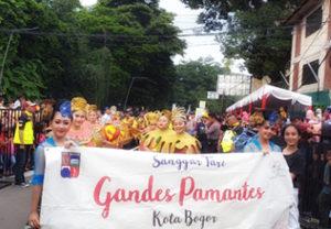 Gandes Pamantes perayaan Bogor Street Festival Cap Go Meh (CGM) 2020 Kota Bogor
