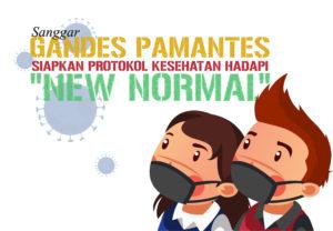 Gandes pamantes siapkan protokol kesehatan hadapi new normal