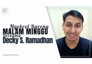 Sanggar Gandes Pamantes Ngobrol Bareng Decky S Ramadhan