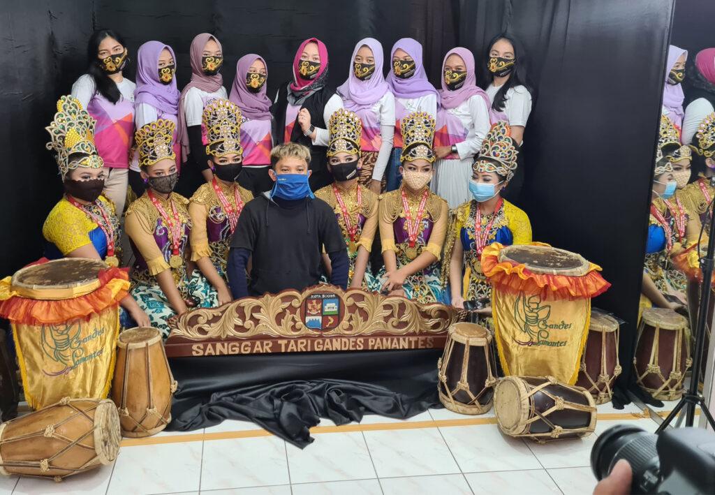 Sanggar Gandes Pamantes Kota Bogor Helat Evaluasi Tari Virtual